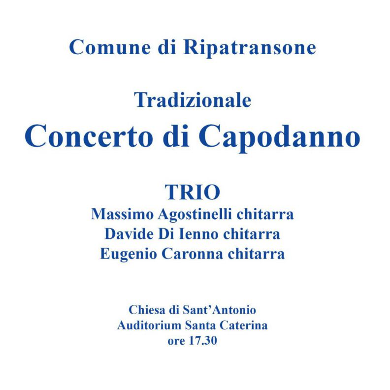 Ripatransone, Concerto in Trio